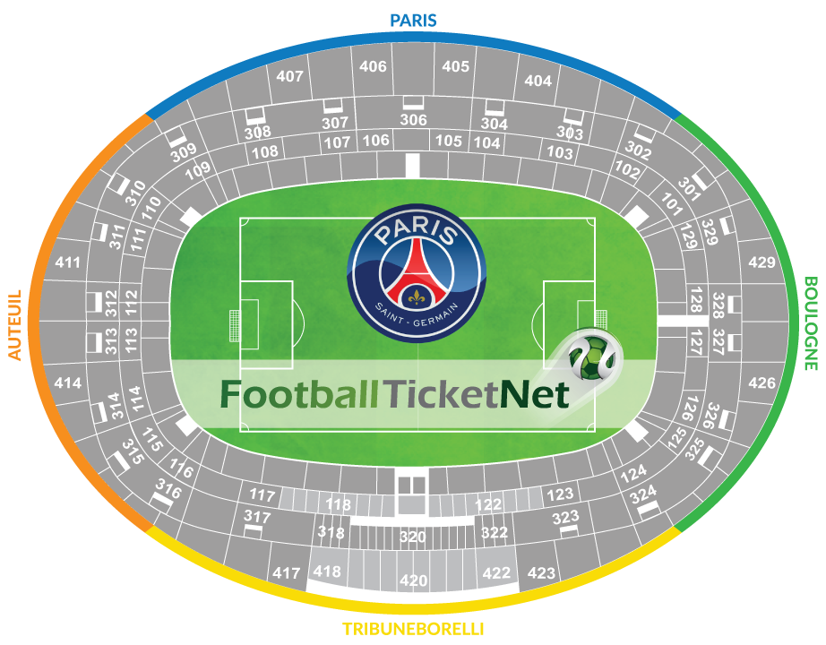 paris saint germain vs as saint etienne 25 08 2017 football ticket net. Black Bedroom Furniture Sets. Home Design Ideas