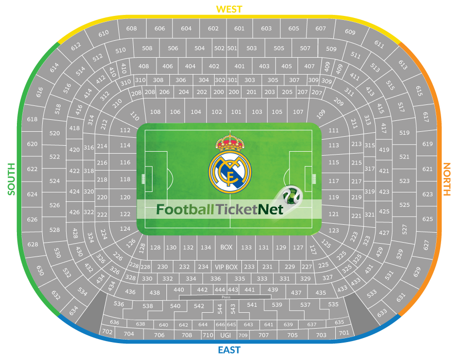 Madrid Tickets Football