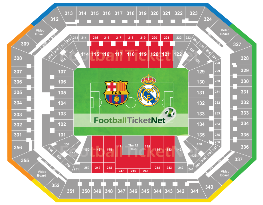 Real Madrid Vs Barcelona Tickets Price