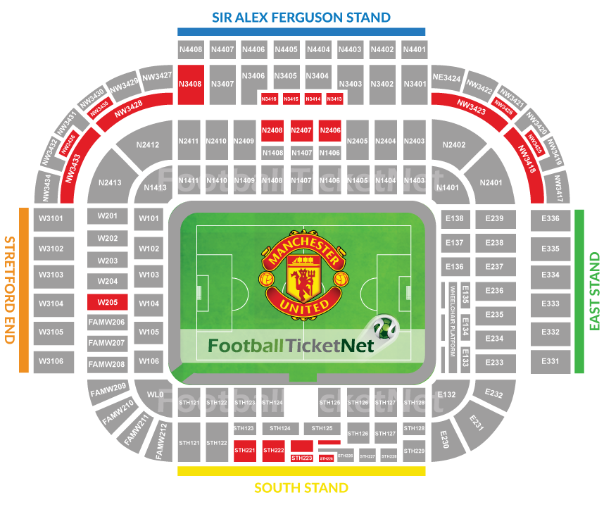 manchester united vs as saint etienne 16 02 2017 football ticket net. Black Bedroom Furniture Sets. Home Design Ideas