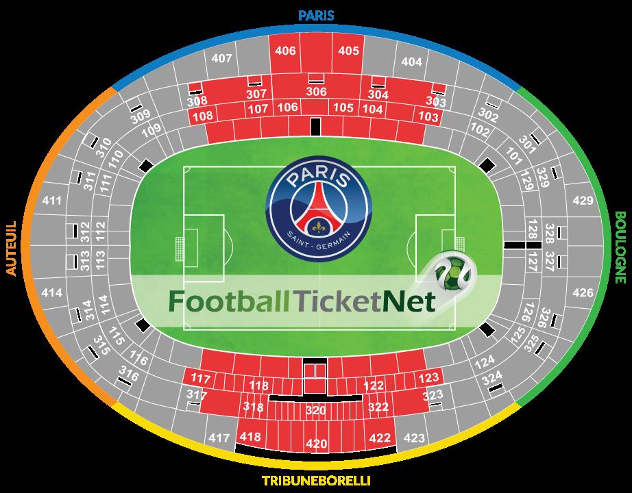 Paris saint germain vs rc strasbourg 17 02 2018 football for Parc des expo strasbourg