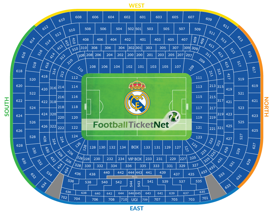 Real madrid vs sporting lisbon 14 09 2016 football ticket net