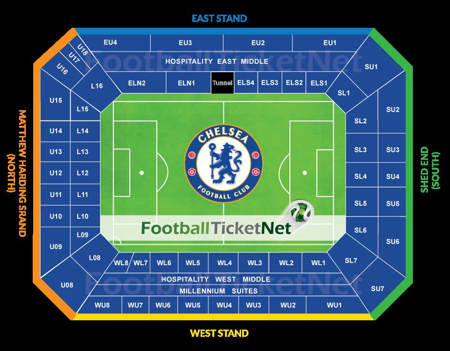 Chelsea Vs Bournemouth 01 09 2018 Football Ticket Net