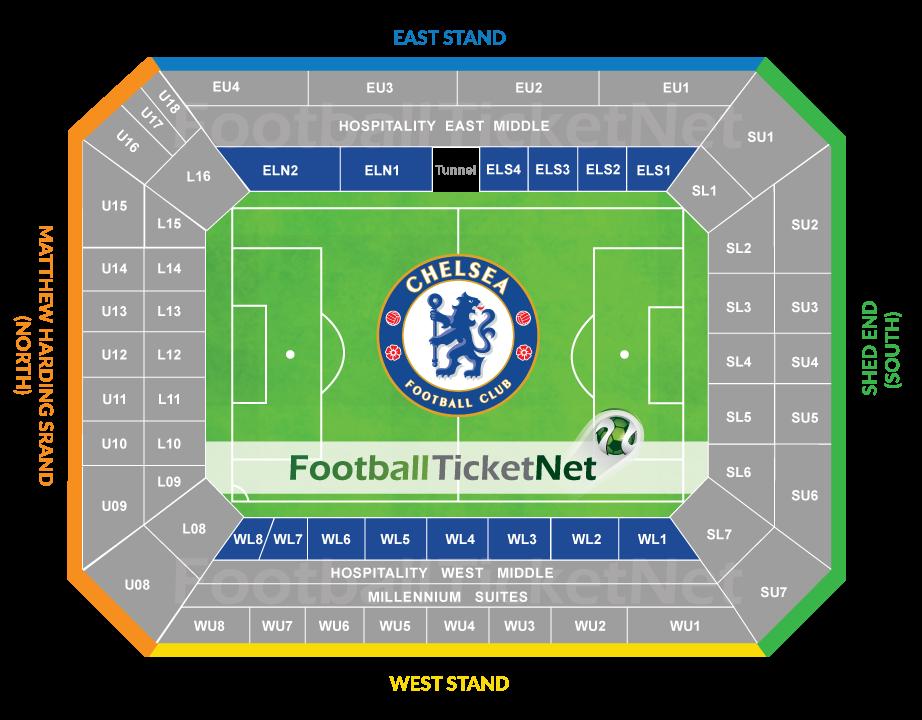 Man utd seating plan north stand