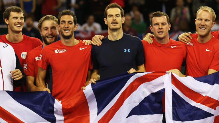 Buy Davis Cup Great Britain Tennis Tickets Now!