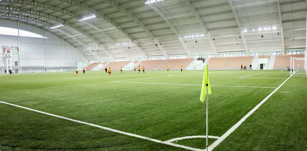 Football in Ural Football academy stadium | Football Ticket Net