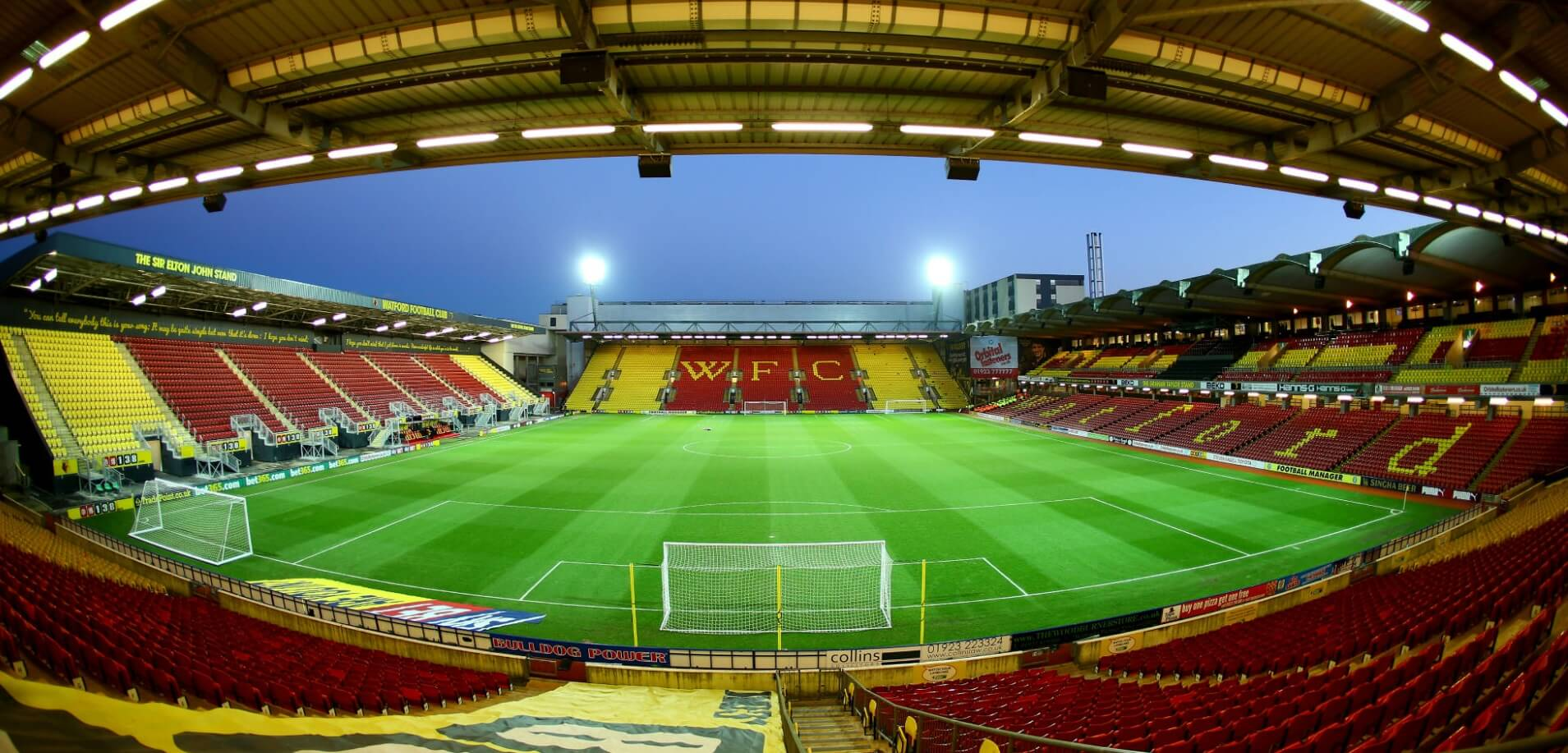 Football in Vicarage Road | Football Ticket Net