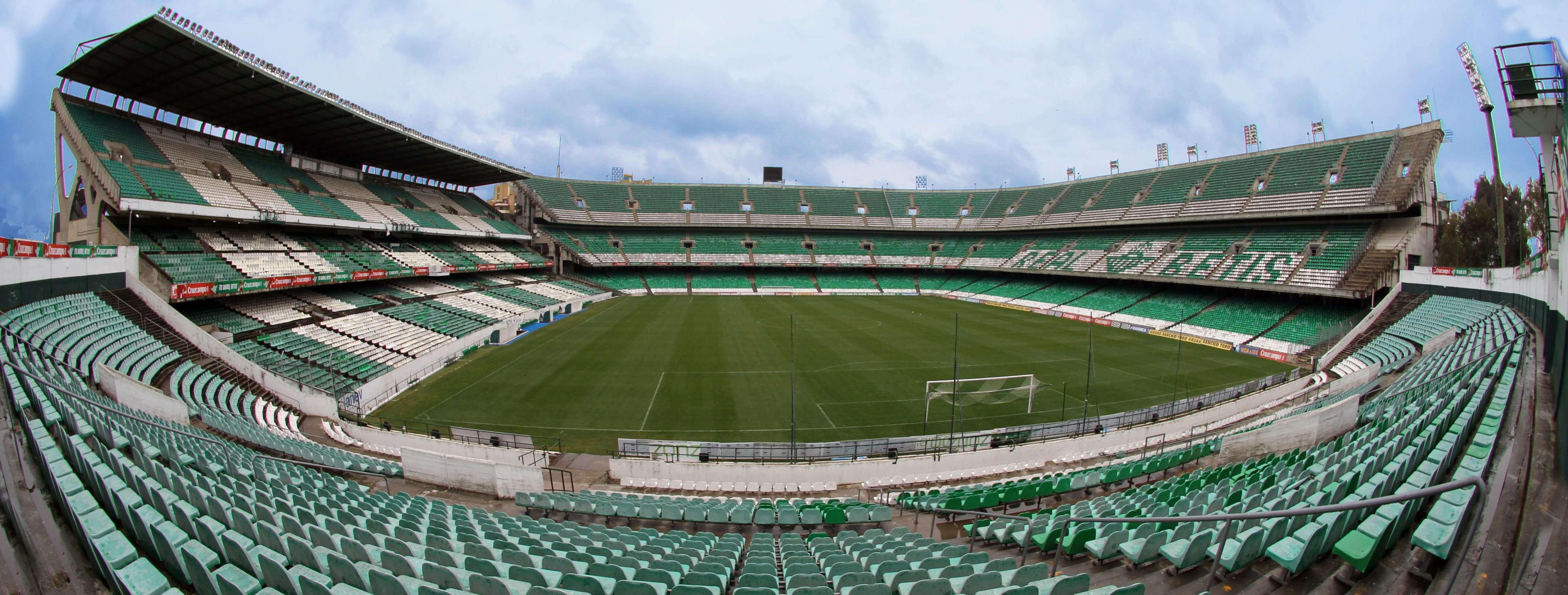 Real betis vs las palmas 19 04 2018 football ticket net for Puerta 19 benito villamarin