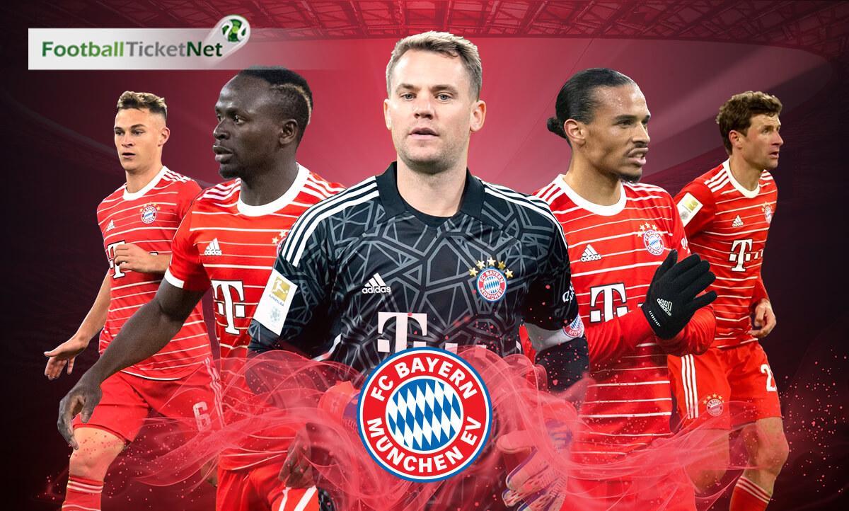 Buy Bayern Munich Football Tickets 2019/20