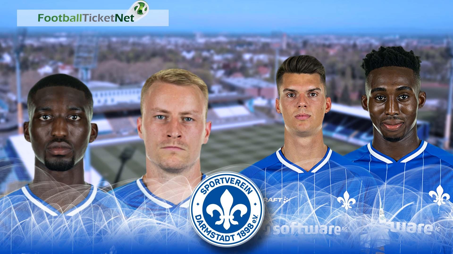 Darmstadt 98 Tickets Heimspiele