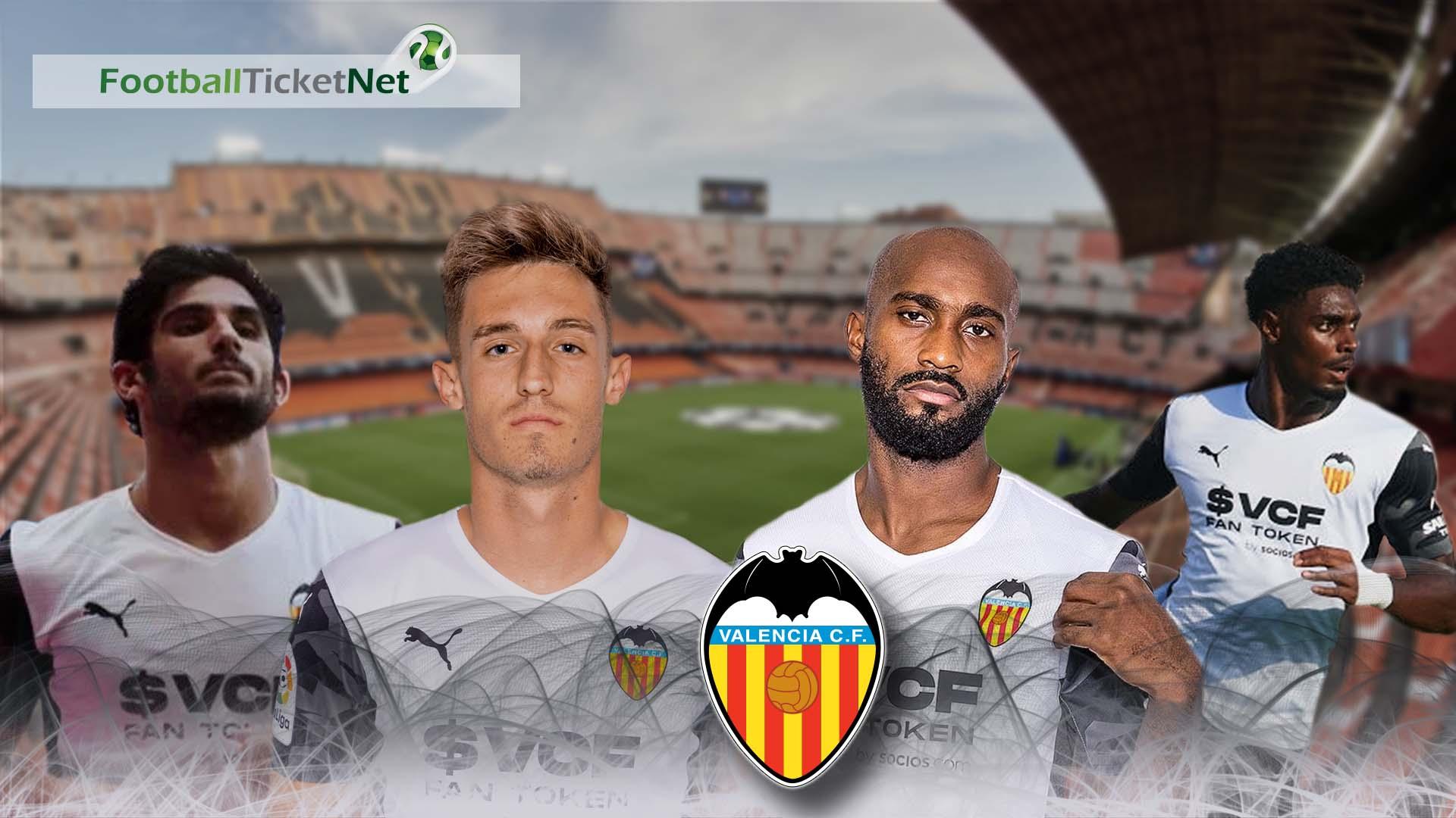 Buy Valencia CF Tickets 2020/21 | Football Ticket Net