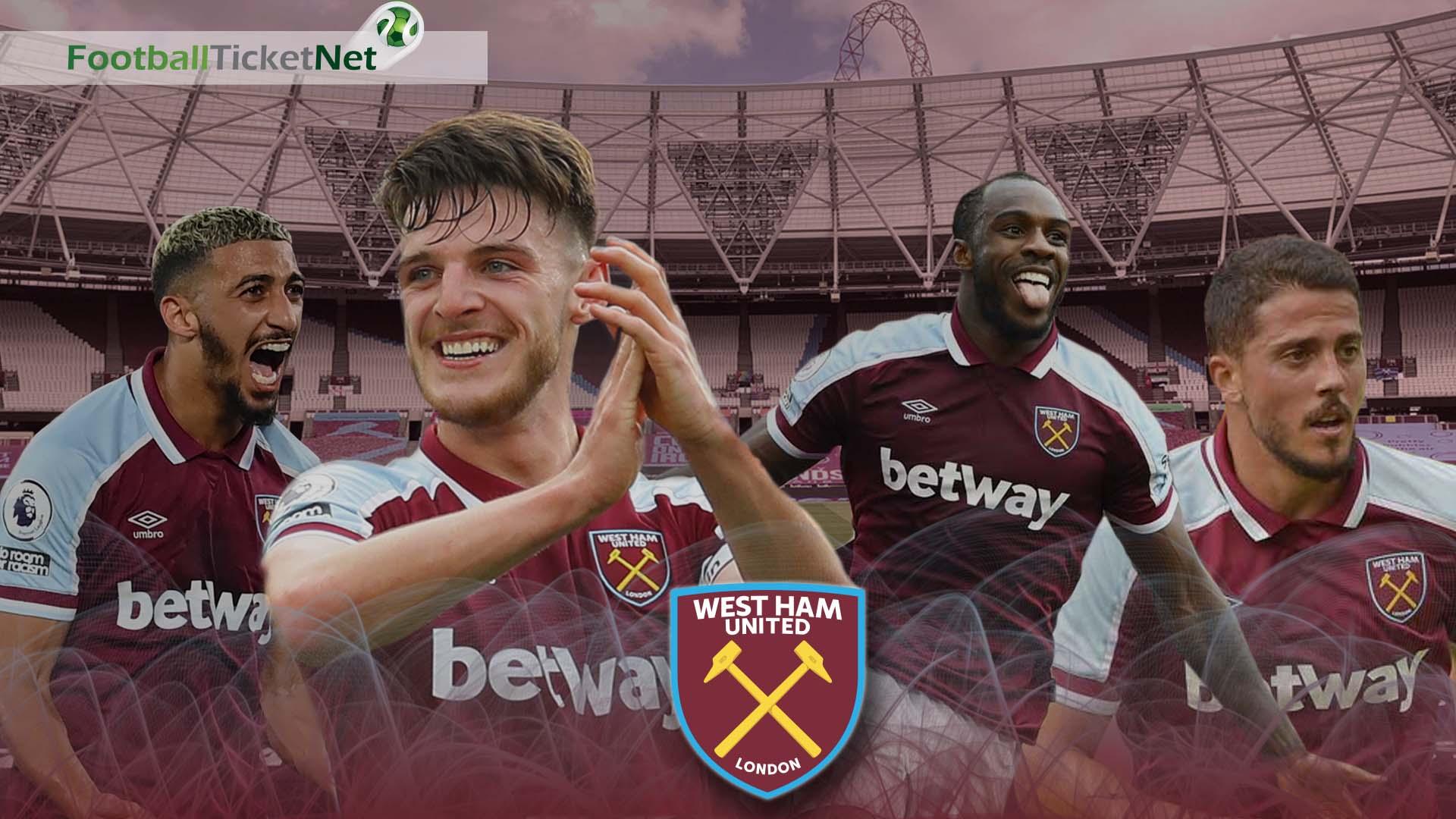 Buy West Ham United Tickets 2020 21 Football Ticket Net