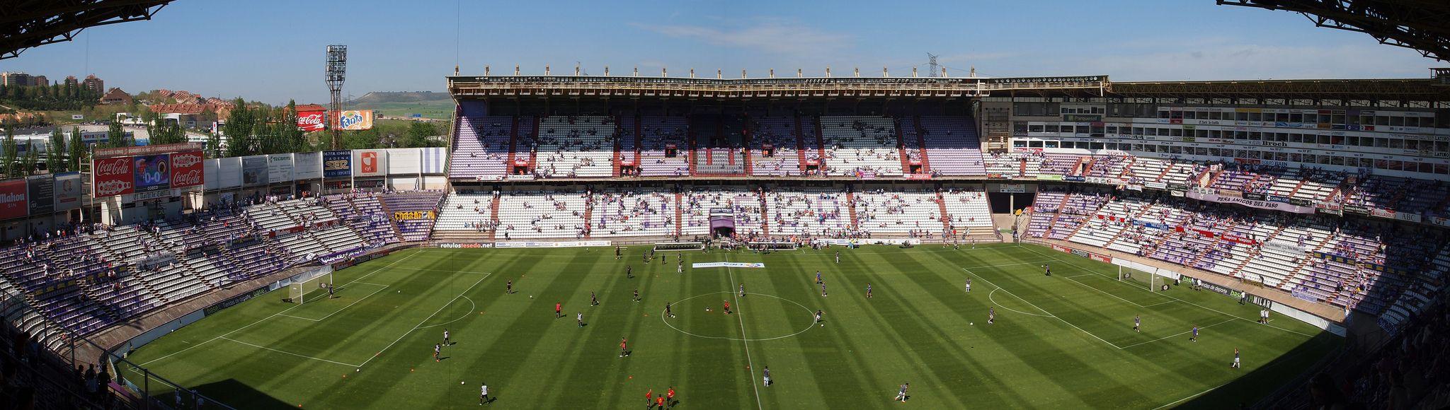 Real Valladolid Vs Real Madrid At Estadio Nuevo Jose Zorrilla On 26