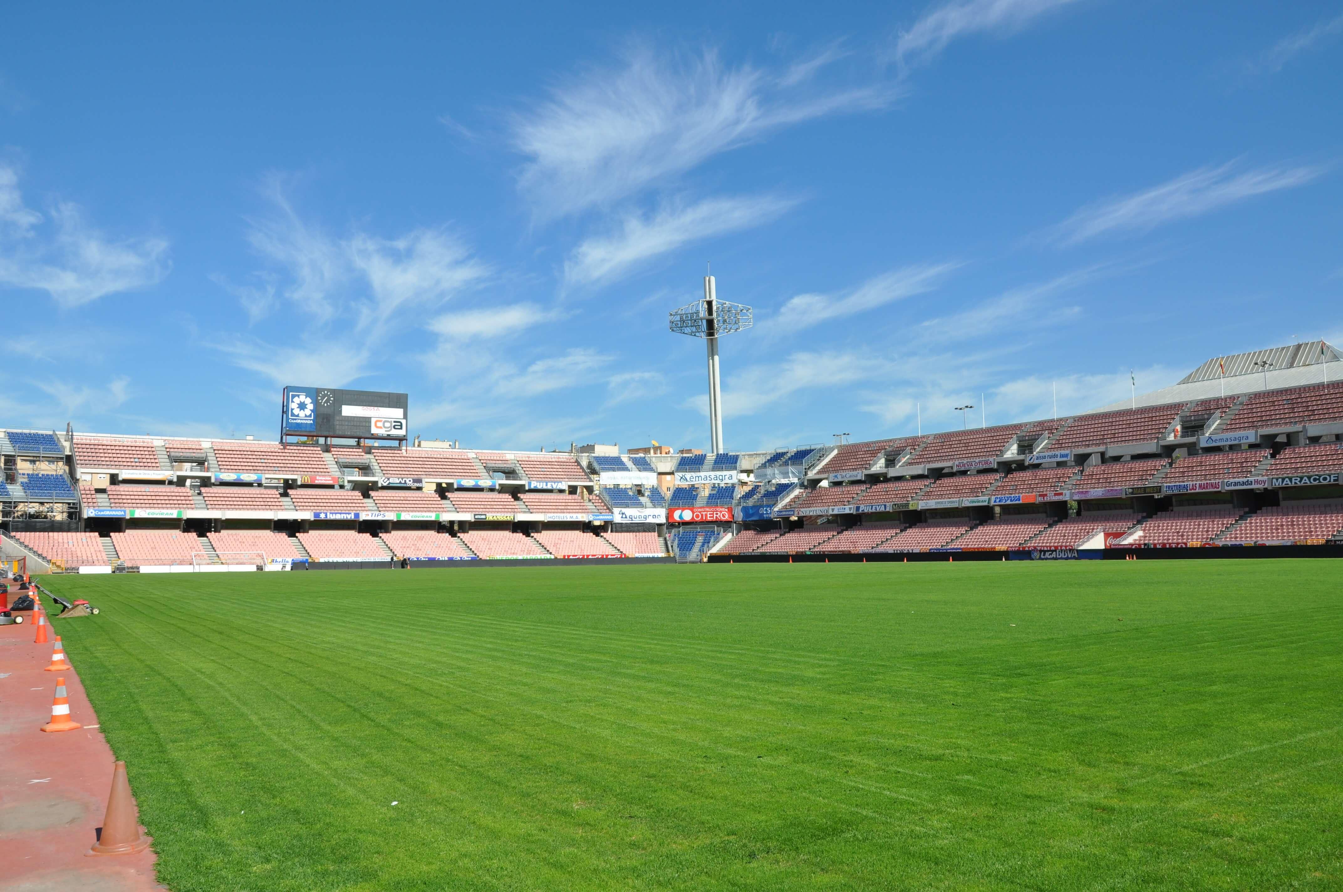 Granada Vs Real Valladolid At Nuevo Estadio De Los Carmenes On 15